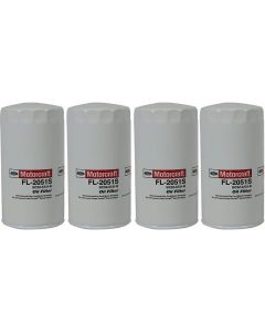 [fl-2051s(X4)]motorcraft fl2051s-Ford 6.7 liter turbo diesel oil filter(bc3z6731b)-4 PACK