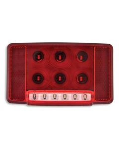 [2351-0100-00]Weldon Rear Combination Lamp w/License