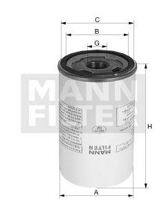 [LB-1374/2]Mann-Filter European Air/Oil Separator Box(SI - Industrial Heavy truck and Bus/Off-Highway )