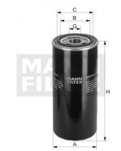 [WD-962/21]Mann-Filter European Hydraulic Spin-on Filter(SI - Industrial Heavy truck and Bus/Off-Highway ) (WD-962/21)