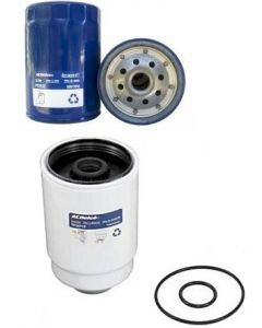 [TP3018/PF2232]2011-2016 Chevy/Gmc 6.6 liter duramax diesel Ac Delco fuel and oil filter.