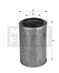 [C-22-115]Mann-Filter European Air Filter Element(SI - Industrial Heavy truck and Bus/Off-Highway )