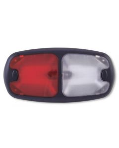 [8086-6978-68]Dome-W-Push-Buttons-Red-Clear