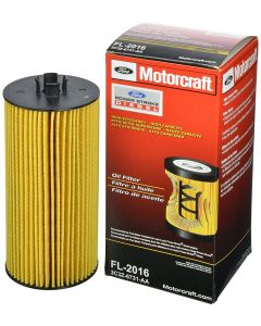 [FL2016(3C3Z6731AA)]Motorcraft FL2016 - Ford 6.0 and 6.4 Liter Powerstroke Turbo Diesel Oil Filter