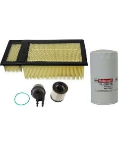 [fd-4615/FA1902/FL2051S]2011-2016 Ford 6.7 liter Powerstroke turbo diesel Motorcraft fuel/water filter kit,air and oil filter.