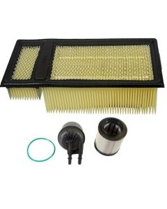 [fd-4615/FA1902]2011-2016 Ford 6.7 liter Powerstroke turbo diesel Motorcraft fuel/water filter kit(2 filters) and air filter.